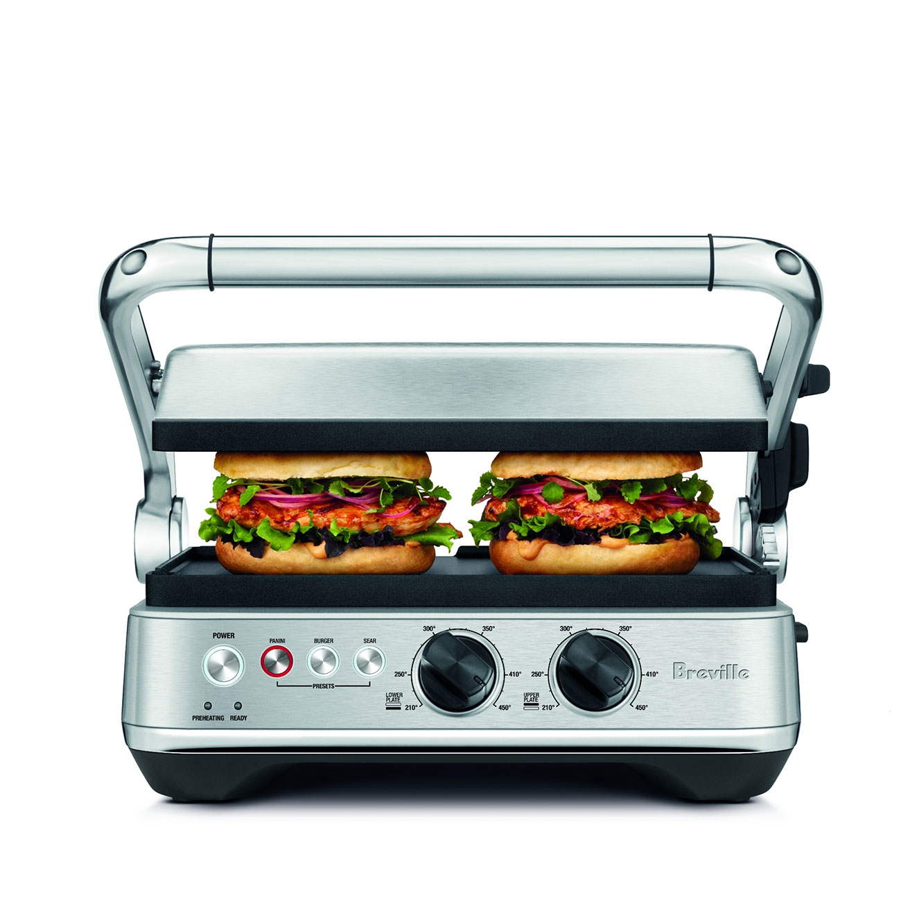 The Sear Press Grill Sandwich Maker Breville