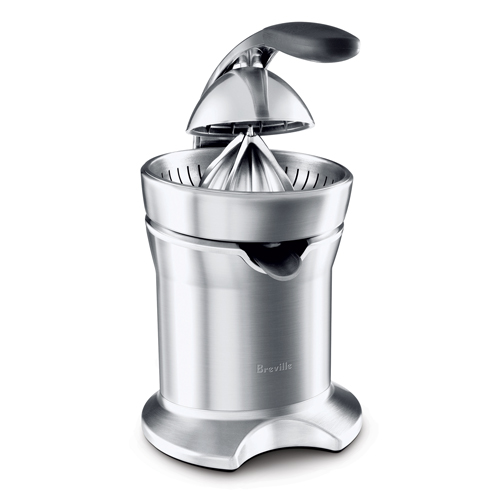 the Citrus Press™ Pro Juicers in Brushed Stainless Steel acid resistant die-cast cone