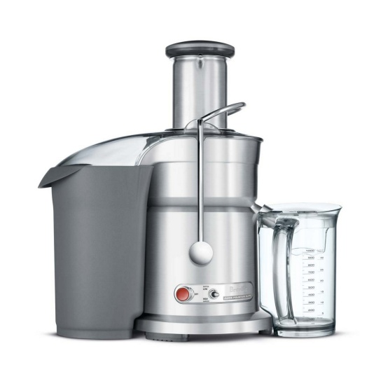 the Juice Fountain™ Elite Brushed Stainless Steel