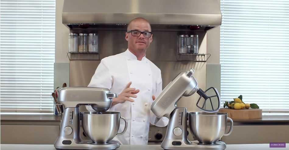 Breville® Scraper Mixer Pro with Chef Heston