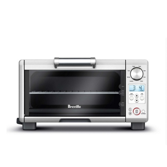 the Mini Smart Oven™ Brushed Stainless Steel