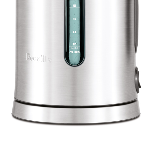 the Smart Kettle™ Tea Machine in Brushed Stainless Steel cordless convenience