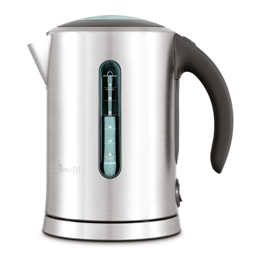 the Smart Kettle™ Tea Machine in Brushed Stainless Steel dual water window