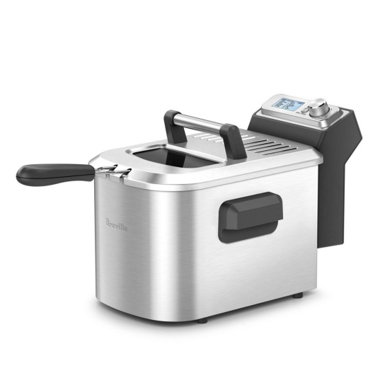 the Smart Fryer™ Acier inoxydable brossé