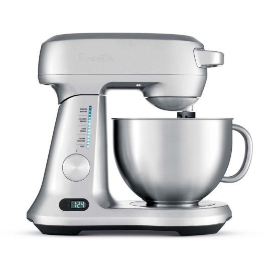 the Scraper Mixer™ Pro Brushed Stainless Steel