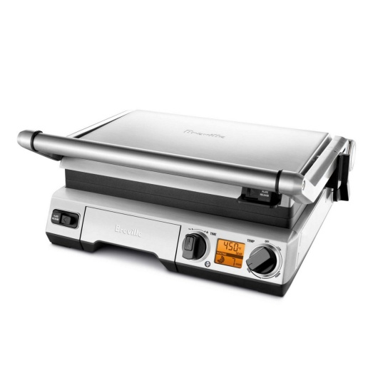 the Smart Grill™ Brushed Stainless Steel