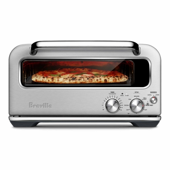 the Smart Oven™ Pizzaiolo Acier inoxydable brossé