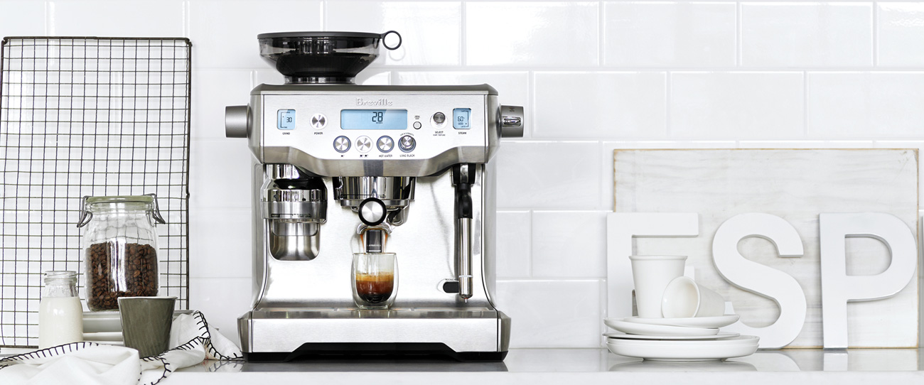 watch video - Breville espresso range