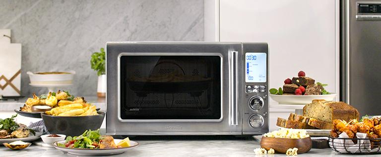 Combination Cooking with Air Fry, Convection Oven & Microwave