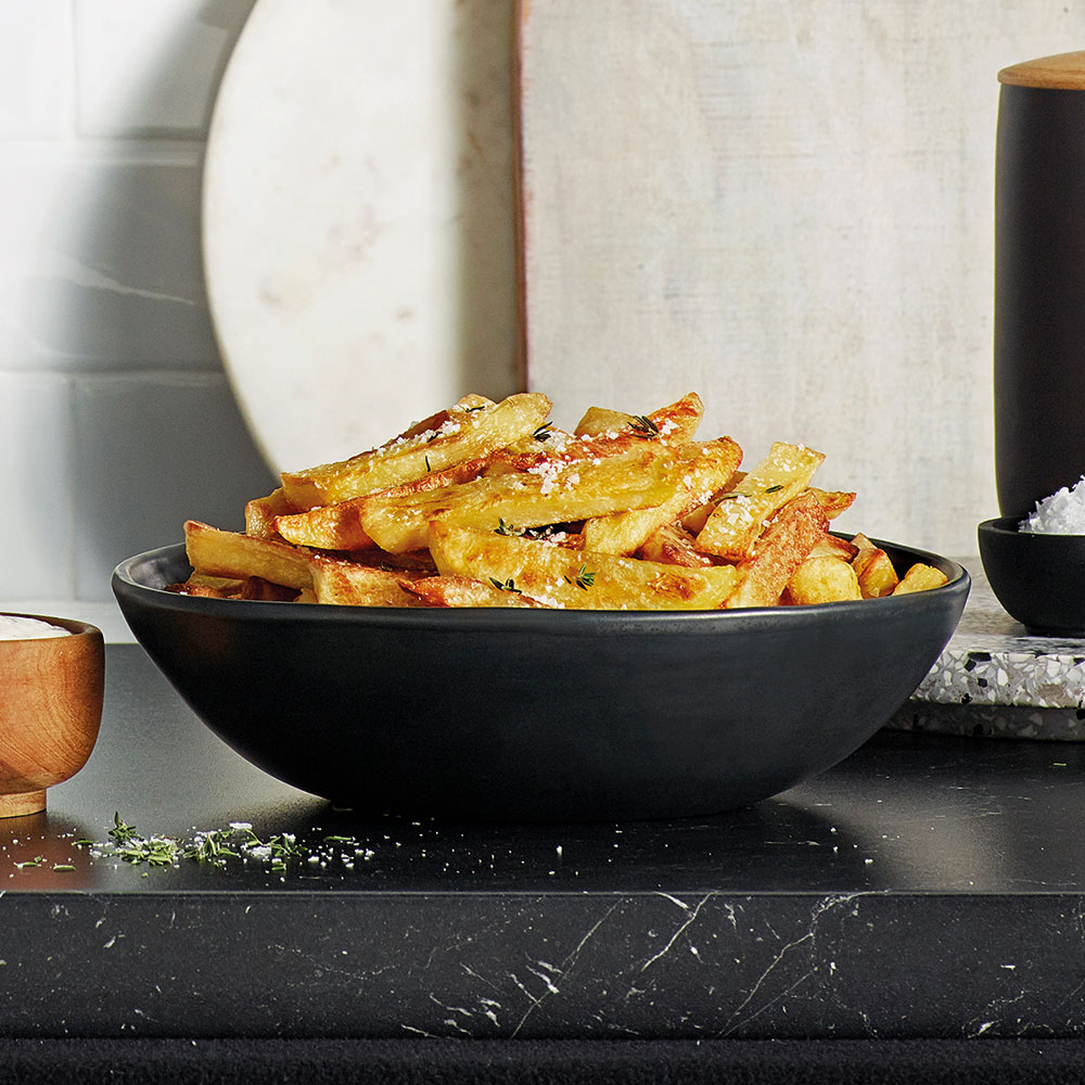 the Wave Range recipes - air fries with peppercorn aioli