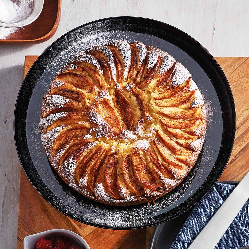the Wave Range recipes - apple cinnamon butter cake