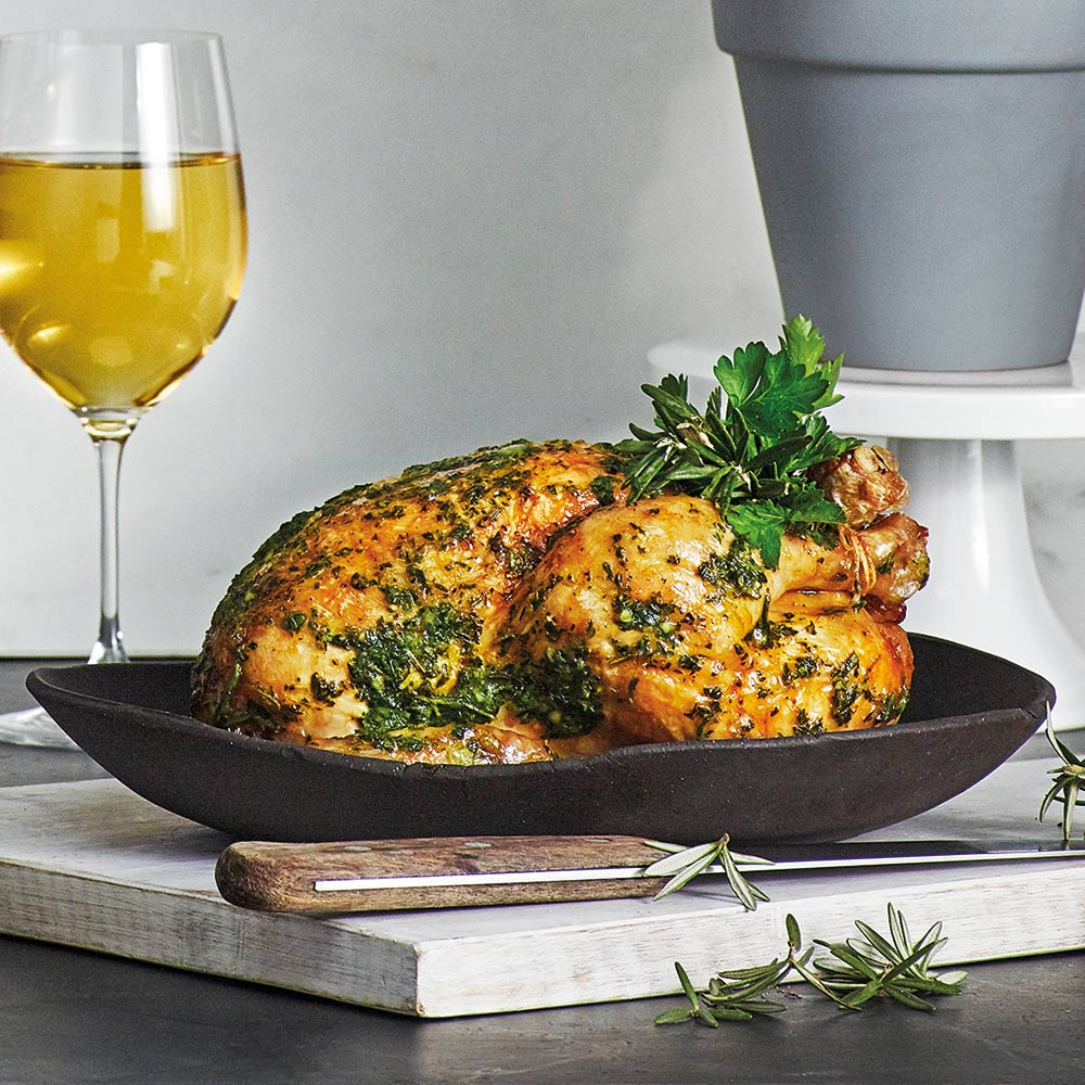 the Wave Range recipes - herb roasted chicken