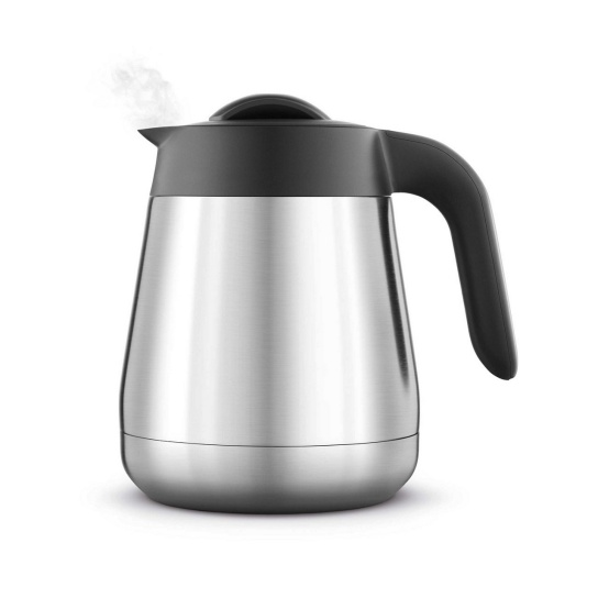 the Breville Precision Brewer® Thermal Coffee in Brushed Stainless Steel carafe