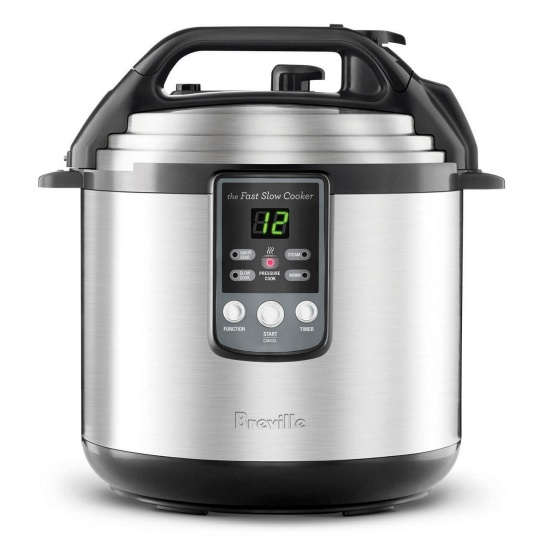 the Fast Slow Cooker™ Brushed Stainless Steel