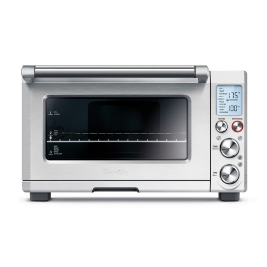 the Smart Oven™ Pro Brushed Stainless Steel