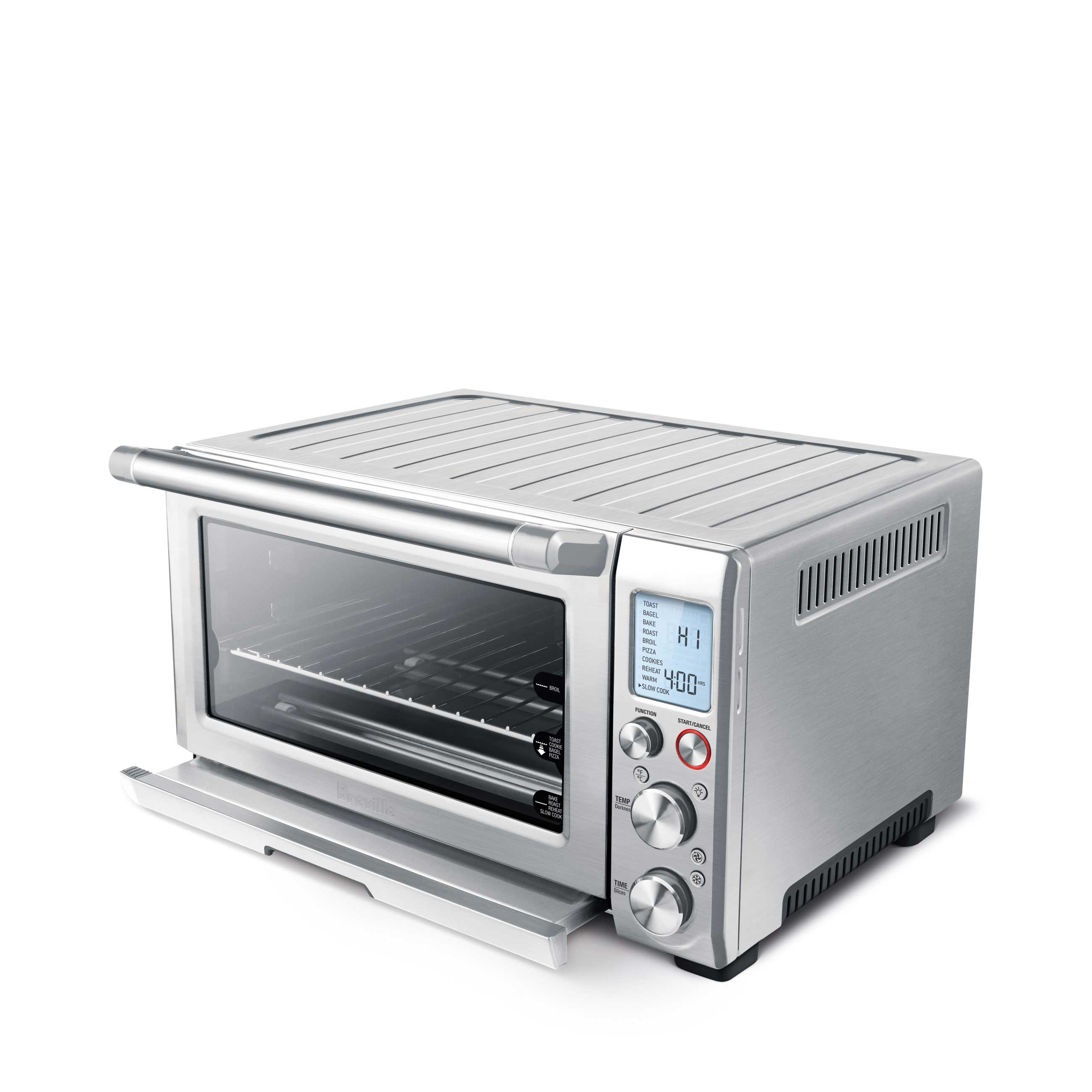 the Smart Oven™ Pro Ovens in Brushed Stainless Steel with lcd display
