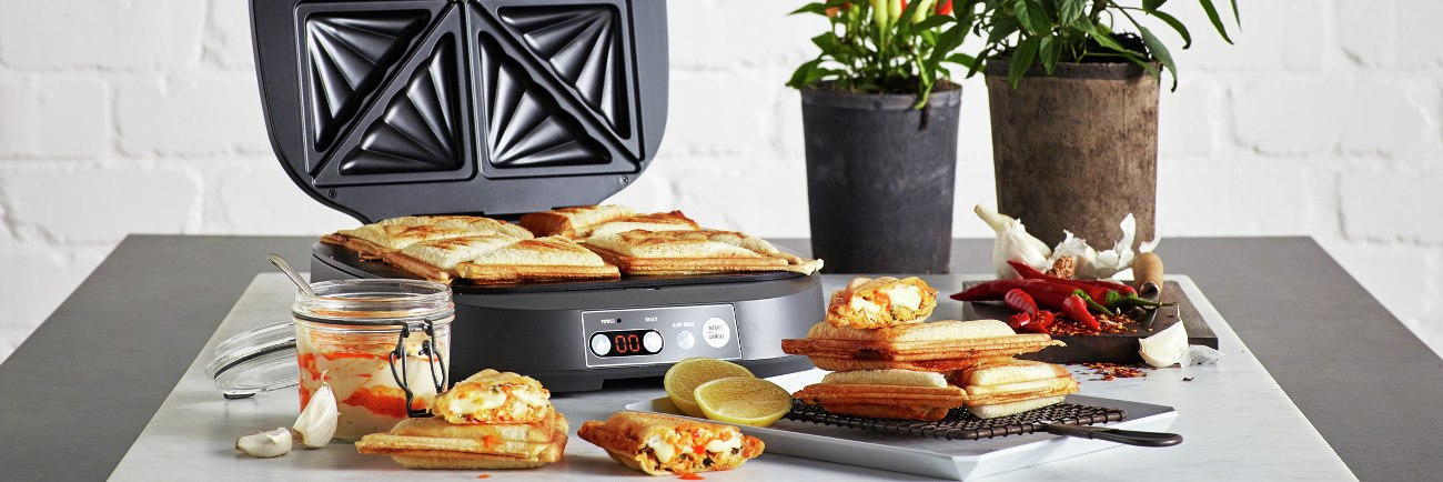 the Power Toastie ™ Snack Makers in Grey