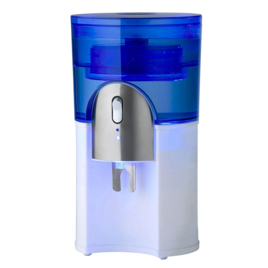Desktop Water Cooler White White