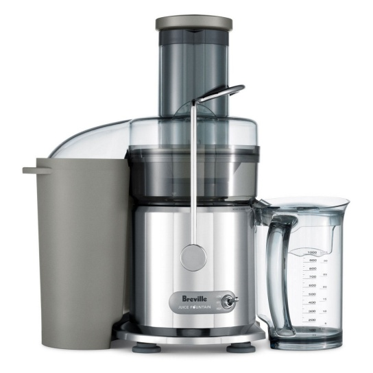 the Juice Fountain® Max Silver