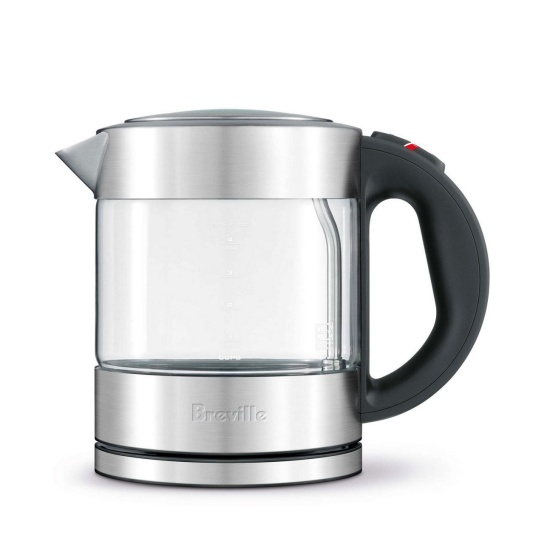 the Compact Kettle™ Clear Silver