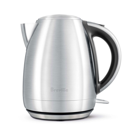 the Soft Open™ Kettle Brushed Stainless Steel