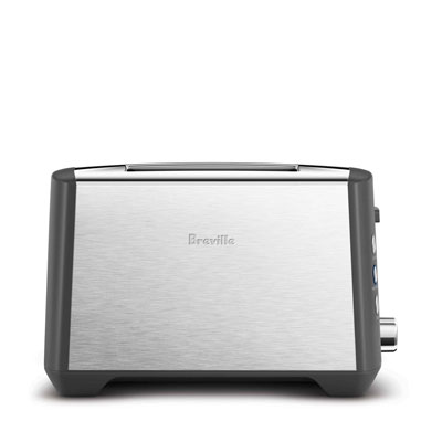 RRP $199.95 Breville BTA845BSS the Smart Toast 4 Slice Extra Wide Slot Toaster