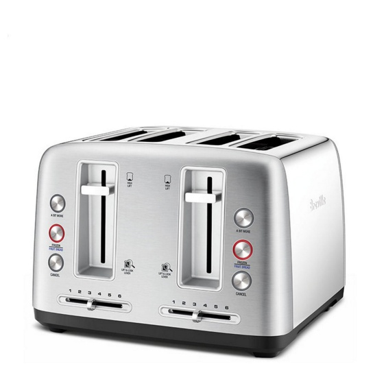 the Toast Control™ 4 Brushed Stainless Steel