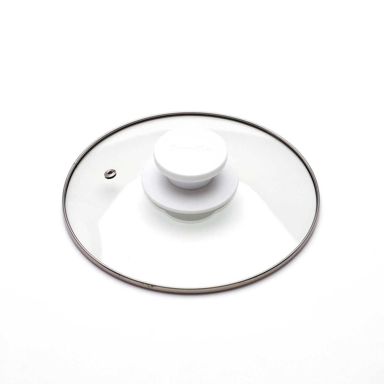 Glass Lid With Knob Complete Assembly