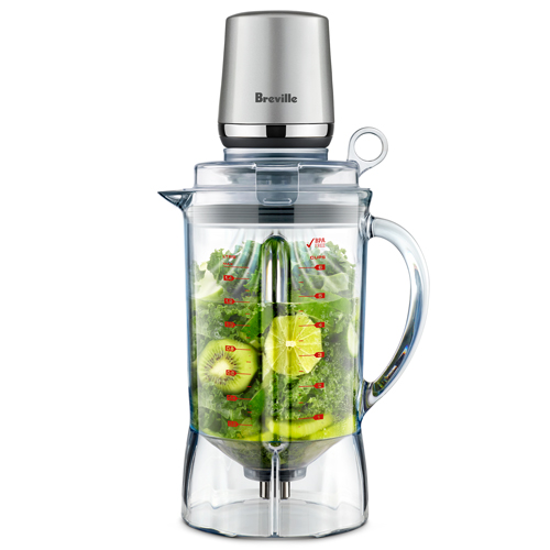 the Vac Q™ Blender in Silver auto switch off