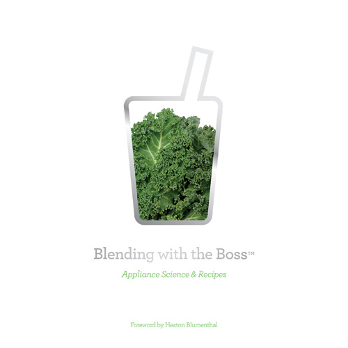 the Breville Boss Blender in Silver complimentary recipe book