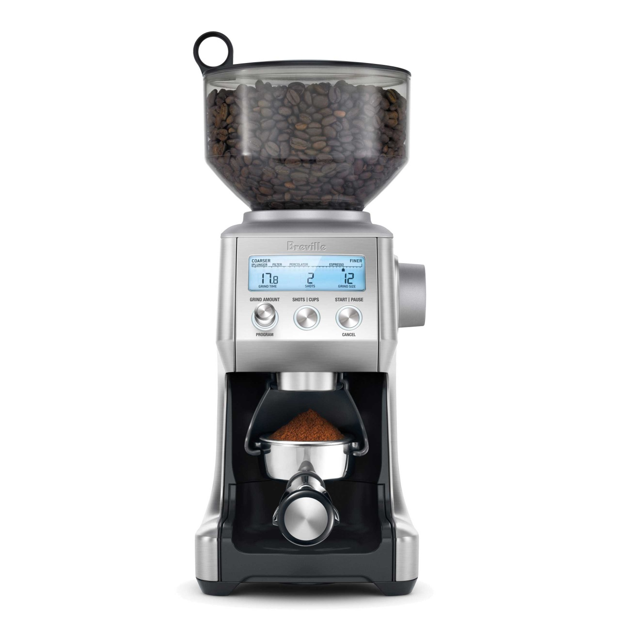 Silver Sage The Smart Grinder Pro Coffee
