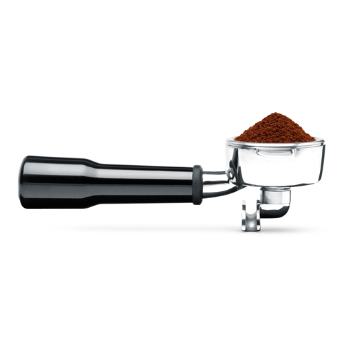 the Smart Grinder™ Pro Coffee Machine In Brushed Stainless Steel dosing IQ