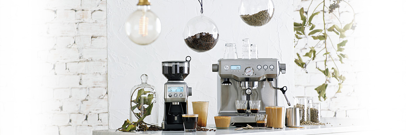 the Smart Grinder™ Pro Coffee Machine In Brushed Stainless Steel