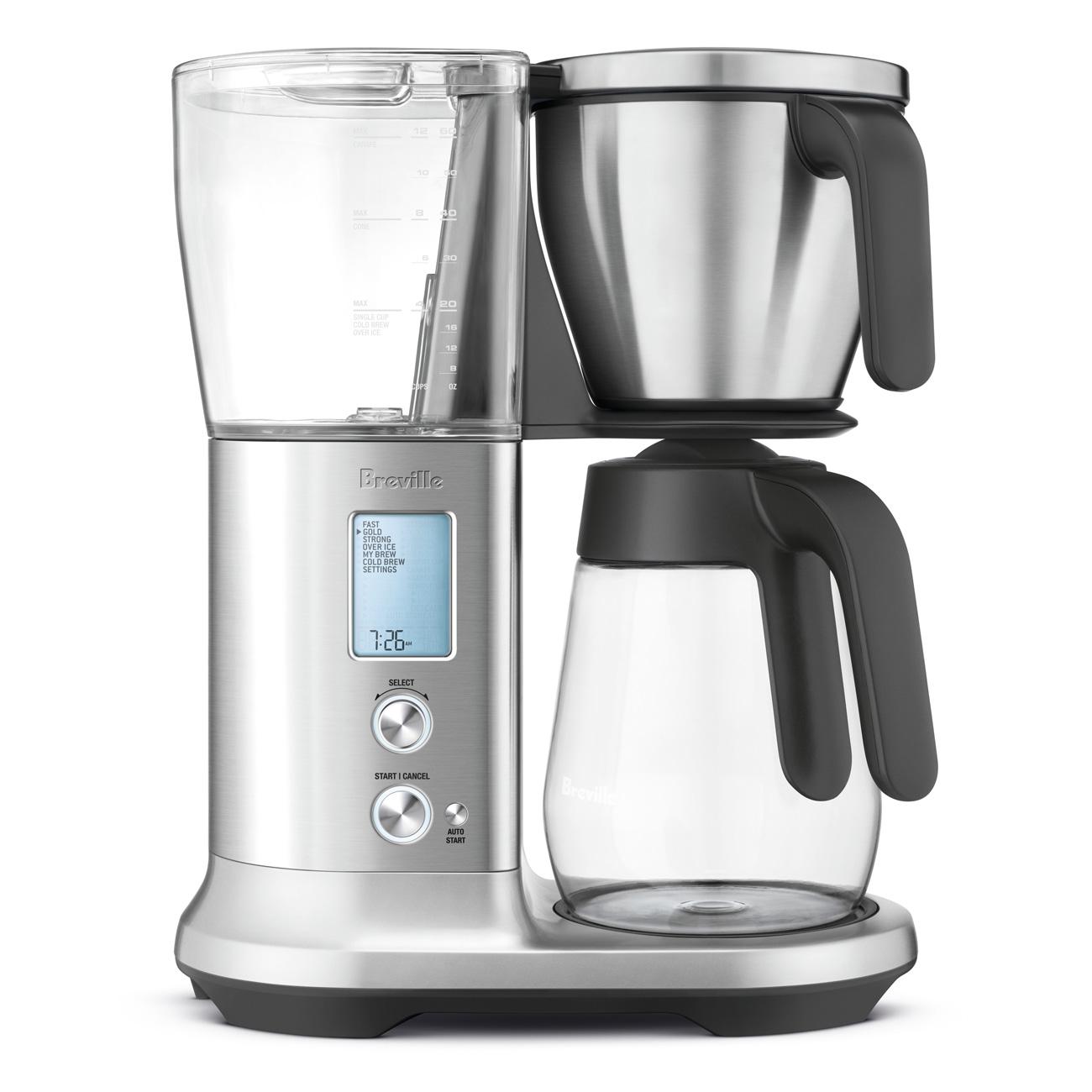 The Breville Precision Brewer Glass Coffee Machine Breville