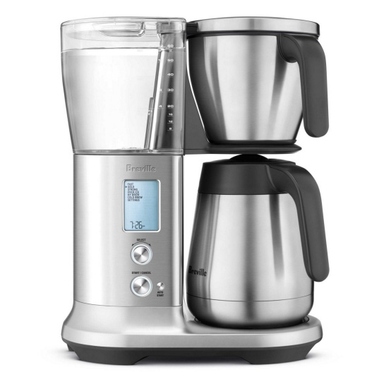 the Breville Precision Brewer® Thermal Brushed Stainless Steel
