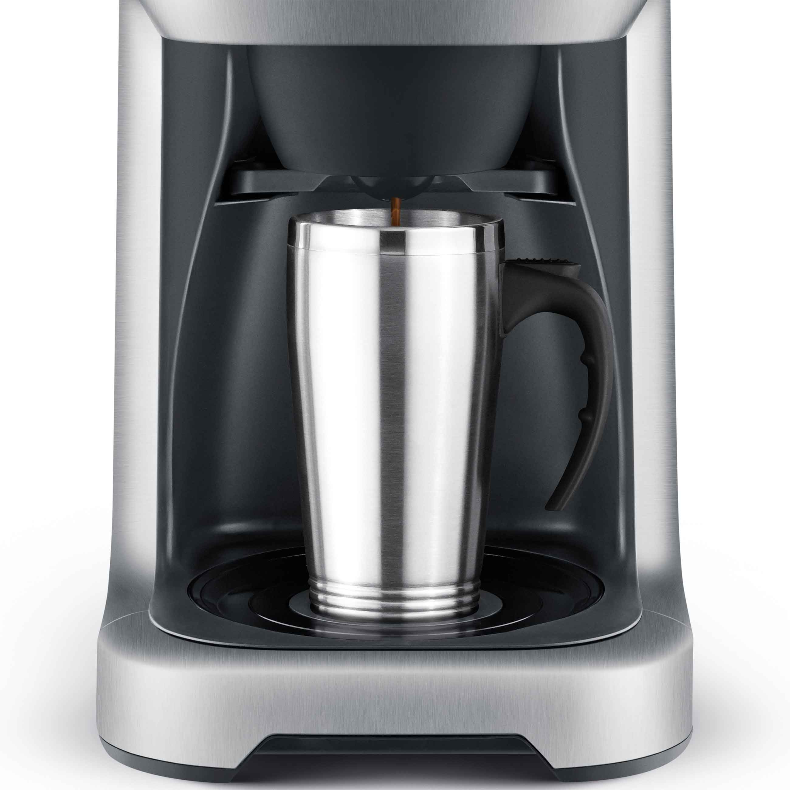 the Grind Control™ Nespresso Machine In Brushed Stainless Steel programmable auto start