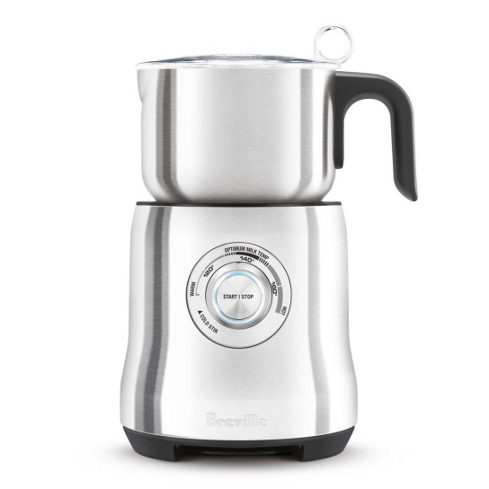 the Milk Cafe™ Brushed Stainless Steel