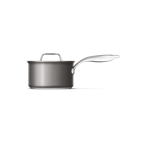 Thermal Pro Hard Anodized Covered 3qt Saucepan in Hard Anodized Aluminium is oven and dishwasher safe