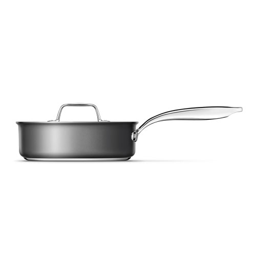 Thermal Pro Hard Anodized Covered 3.5qt Saute Pan is oven and dishwasher safe