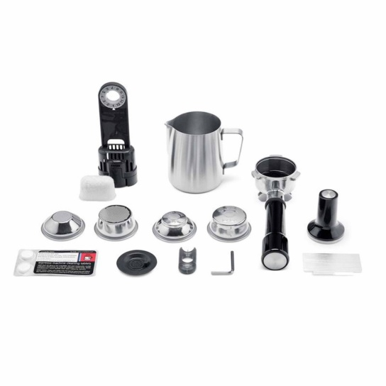 the Infuser Espresso Machine included kit