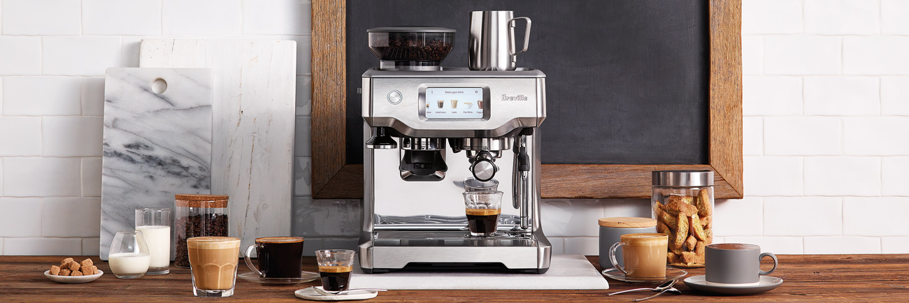 the Barista Touch™ Espresso in Brushed Stainless Steel