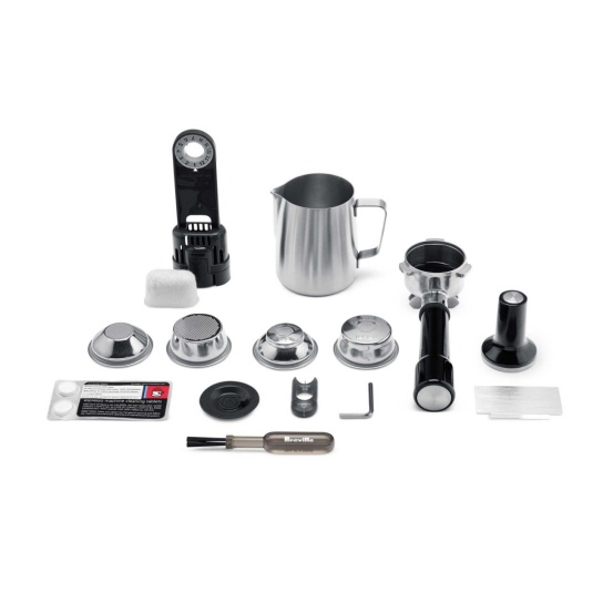 the Dual Boiler™ Espresso in Brushed Stainless Steel Included Kit