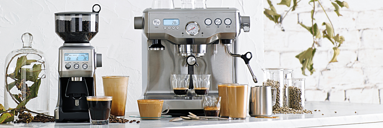 the Dual Boiler™ Espresso in Brushed Stainless Steel