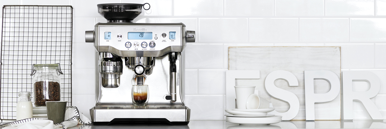 the Oracle® Espresso in Brushed Stainless Steel