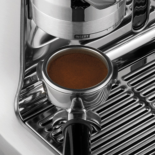 the Oracle Espresso Machine in Brushed Stainless Steel precise espresso extraction