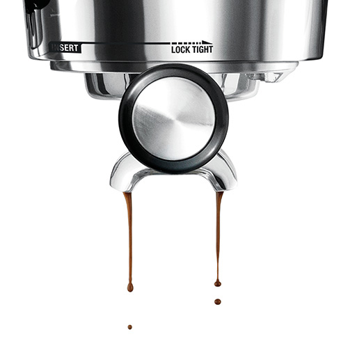 the Oracle Touch Espresso Machine in Brushed Stainless Steel precise water temperature