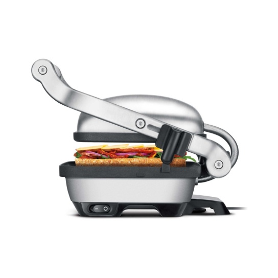 The Perfect Press™ Grills & Sandwich Makers In Brushed Stainless Steel side view