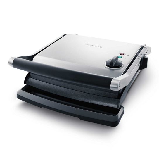 the Panini Grill™ Brushed Stainless Steel