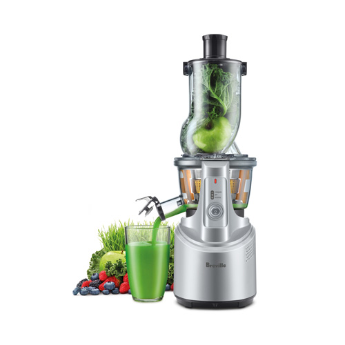 the Big Squeeze™ Juicer In Silver big squeeze technology
