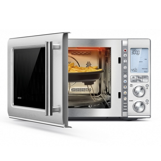 the Combi Wave™ 3 in 1 Microwave in Brushed Stainless Steel
